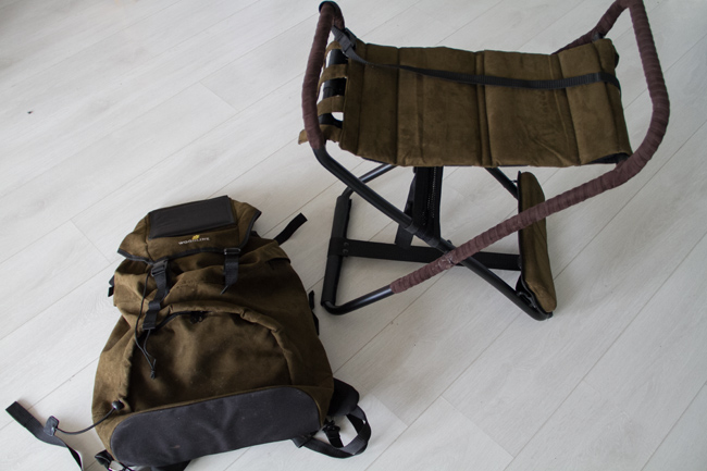 Repun saa irrotettua tuolista kohtuullisen nopeasti.