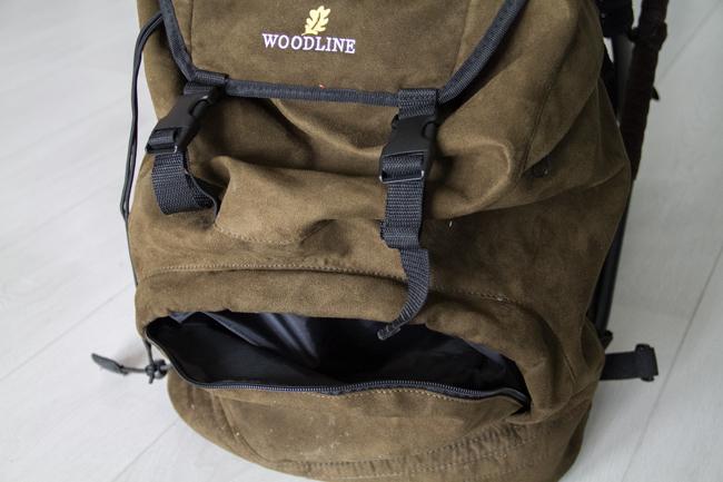 Repun etuosassa on myös tasku, jossa voi pitää esim. lisäpatruunoita nopeasti saatavilla.